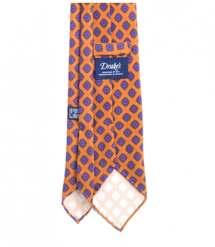 Drake-s-Gold-Floral-Tile-Print-Twill-Madder-Silk-Tie-F1EH.16803.007-34