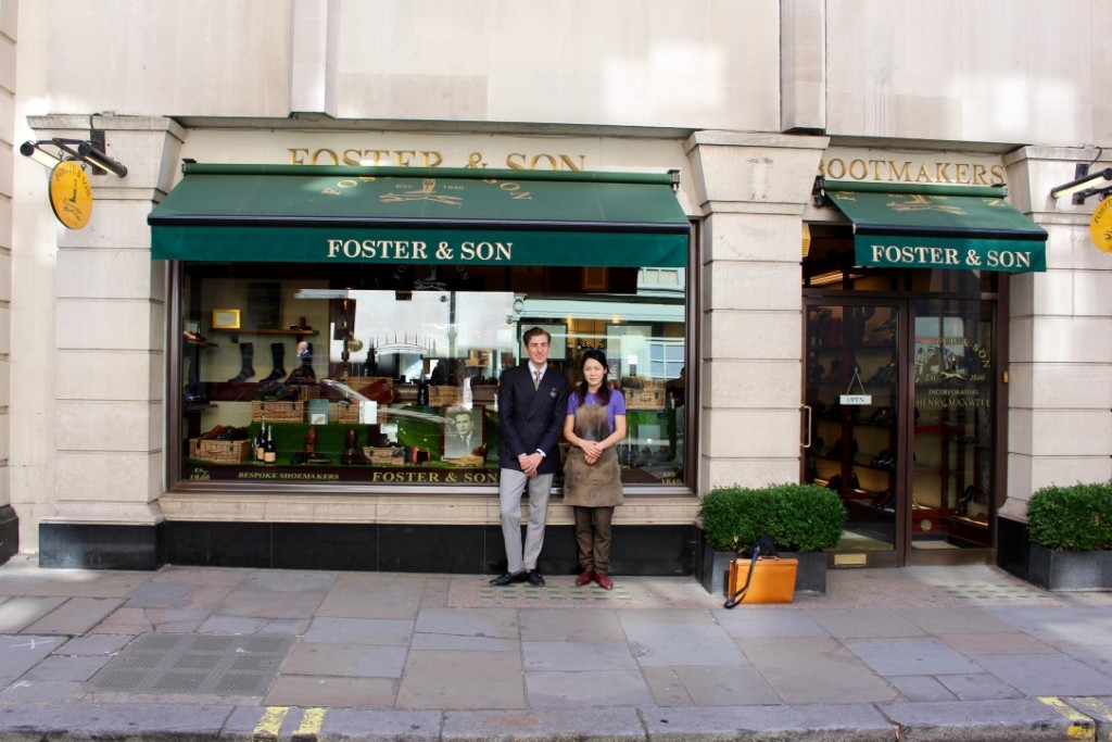 FOSTER & SON 83 Jermyn Street London SW1Y 6JD shoemakers@foster.co.uk Facebook Website Instagram